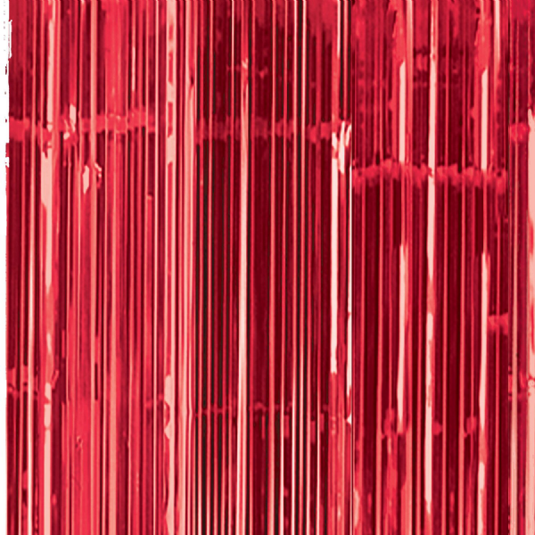 Apple Red Door Curtain
